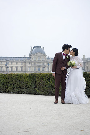 paris destination wedding An Intimate Elopement in Paris, France