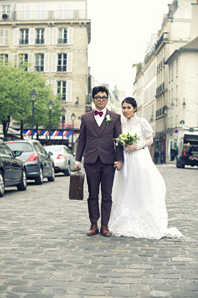 paris destination weddings An Intimate Elopement in Paris, France
