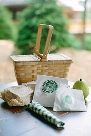 picnic basket welcome bag