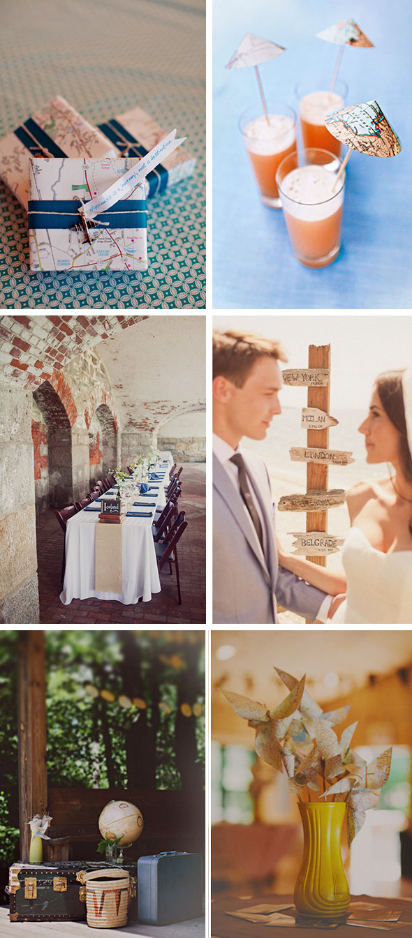travel theme destination wedding ideas the destination wedding