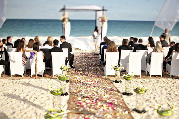 beach wedding banyan tree beach destination weddings riviera maya