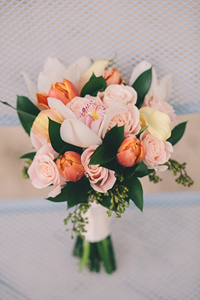 destination wedding bouquets