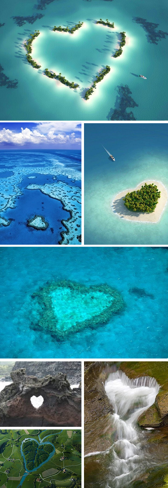 heart honeymoon locations