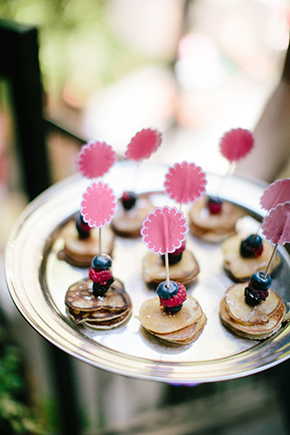 menu ideas destination wedding