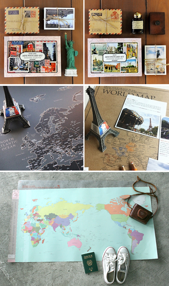 map destination wedding products
