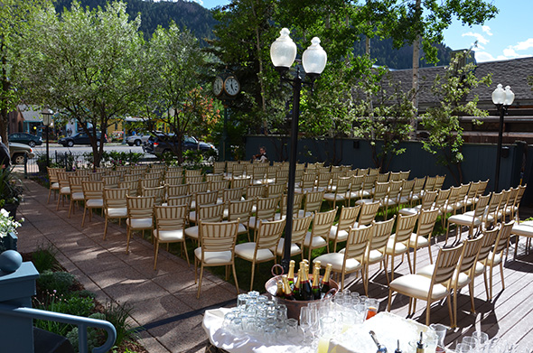 wedding locations in aspen Weddings at the Hotel Jerome in Aspen, CO