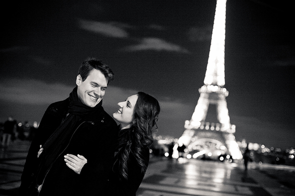 destination weddings paris An Engagement in Paris!