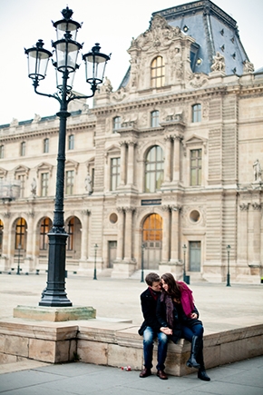 france engagements An Engagement in Paris!