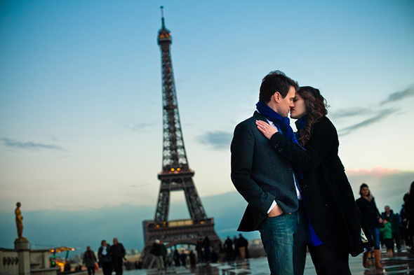 france wedding proposals An Engagement in Paris!