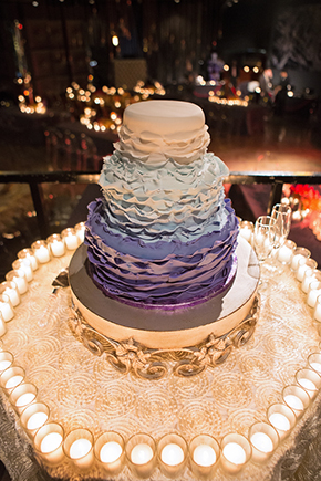 Ombre Wedding Cake ...