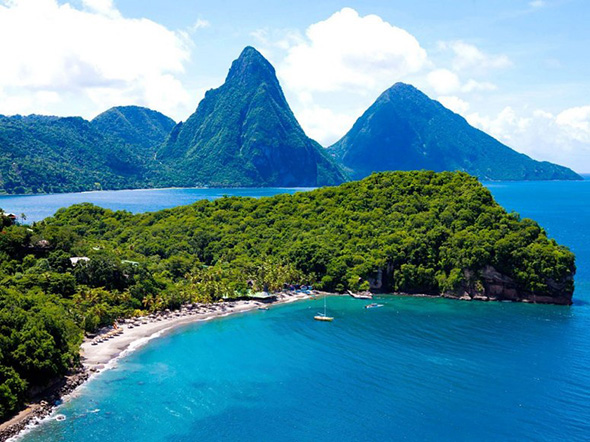 Location St Lucia In Caribbean: Five Reasons To Wed In The Caribbean