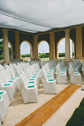 green and white weddings Destination I Do in Andria, Italy