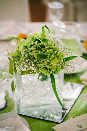 green wedding centerpieces Destination I Do in Andria, Italy