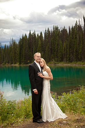 BC Canada destination weddings A Day After Destination Photo Shoot on Emerald Lake in British Columbia