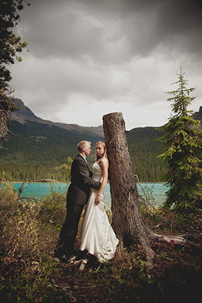 BC Canada national park weddings A Day After Destination Photo Shoot on Emerald Lake in British Columbia