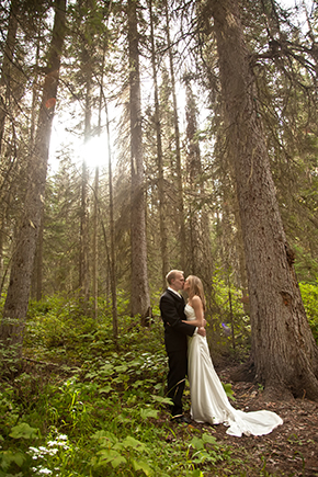 British Columbia park wedding