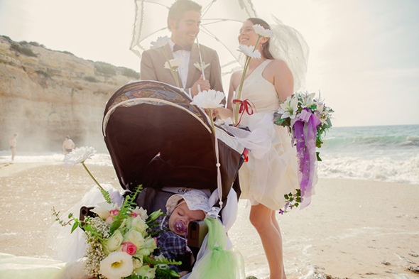 Destination Portugal wedding A Beach Wedding in Portugal (with a baby!)
