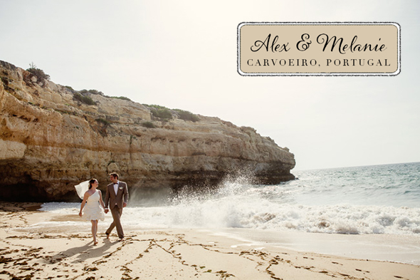 Destination wedding Portugal location A Beach Wedding in Portugal (with a baby!)