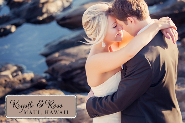 beach wedding in hawaii An Intimate Destination Wedding in Maui, Hawaii