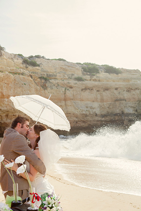 beach wedding portugal A Beach Wedding in Portugal (with a baby!)