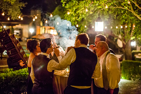 cigar bars at weddings
