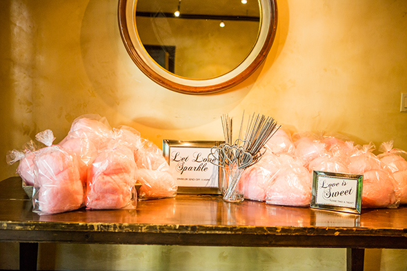 cotton candy favors