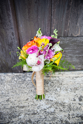 destination wedding bridal bouquet