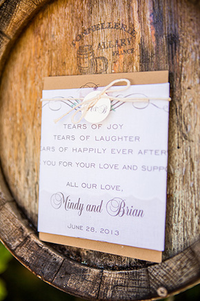 destination wedding invitations An Intimate Destination Wedding at Kenwood Inn and Spa in Sonoma