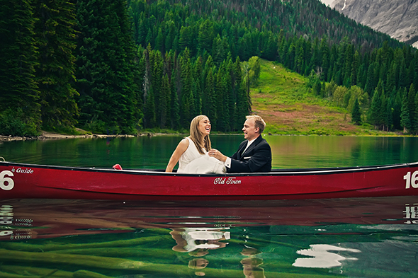 destination wedding photography1 A Day After Destination Photo Shoot on Emerald Lake in British Columbia