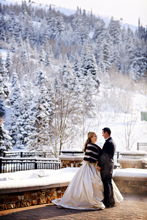 destination wedding4 A Winter Wonderland Wedding in Park City, Utah