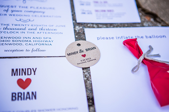 destination weddings invitation An Intimate Destination Wedding at Kenwood Inn and Spa in Sonoma