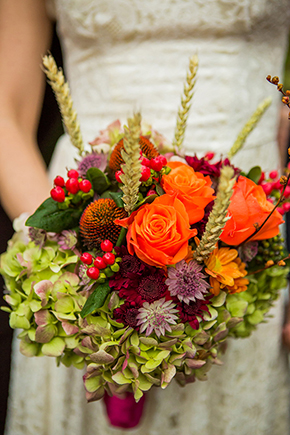 fall bridal bouquet A Destination Wedding for a Destination Wedding Photographers Sister