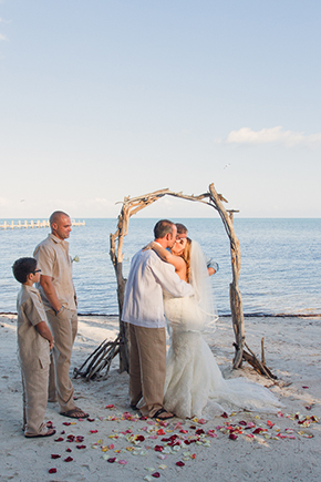 florida keys beach wedding A Beach Wedding in the Florida Keys