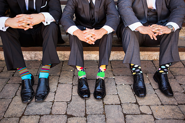 groom's socks ideas