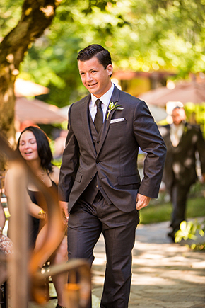 grooms suit An Intimate Destination Wedding at Kenwood Inn and Spa in Sonoma