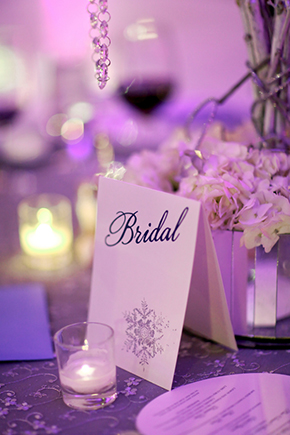 head table names A Winter Wonderland Wedding in Park City, Utah