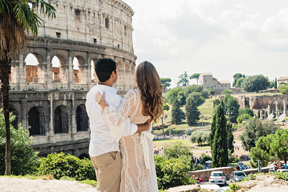 italy destination wedding A Roman Holiday   1st Anniversary in Italy