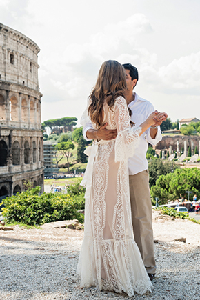 italy destination weddings A Roman Holiday   1st Anniversary in Italy