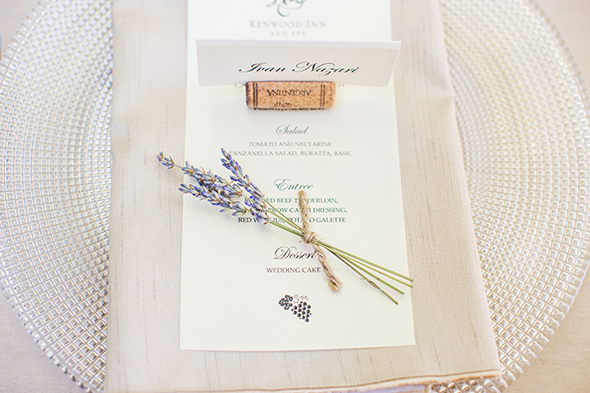 lavender wedding ideas An Intimate Destination Wedding at Kenwood Inn and Spa in Sonoma