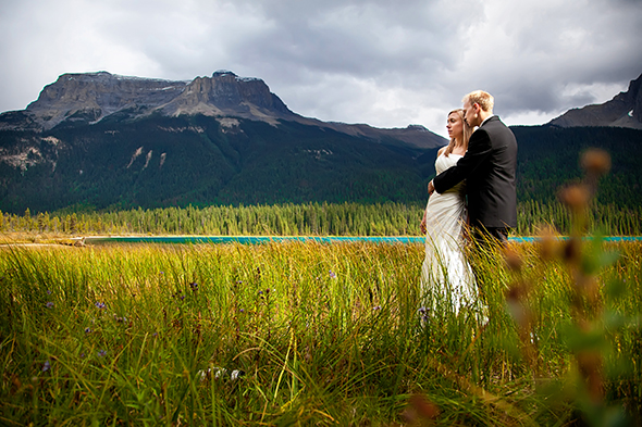 national park weddings A Day After Destination Photo Shoot on Emerald Lake in British Columbia