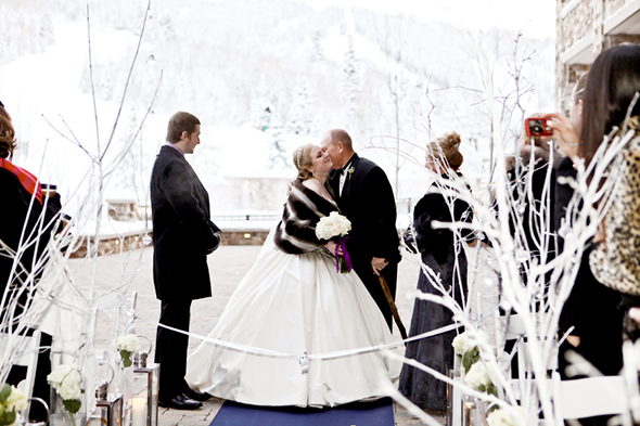 park city destination wedding A Winter Wonderland Wedding in Park City, Utah