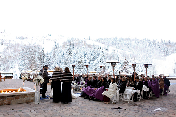 park city st regis wedding