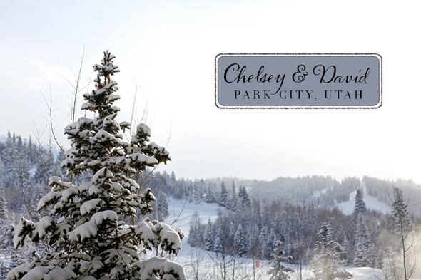 park city wedding1 A Winter Wonderland Wedding in Park City, Utah