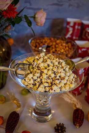 popcorn at weddings