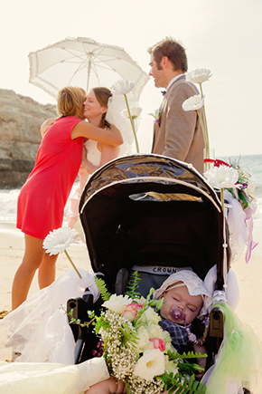 portugal destination wedding A Beach Wedding in Portugal (with a baby!)