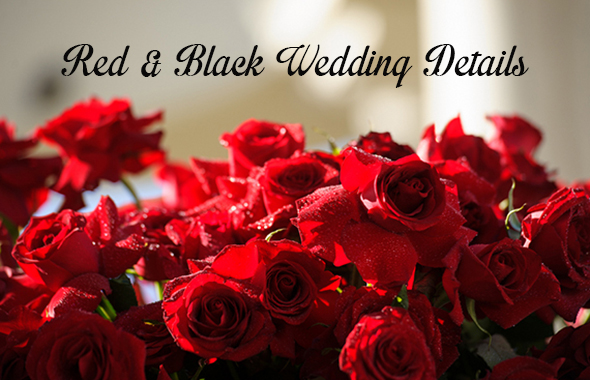 redblackweddingcv Color Palette Inspiration:Red & Black