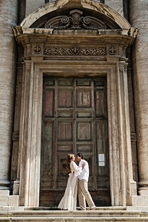 rome destination wedding A Roman Holiday   1st Anniversary in Italy