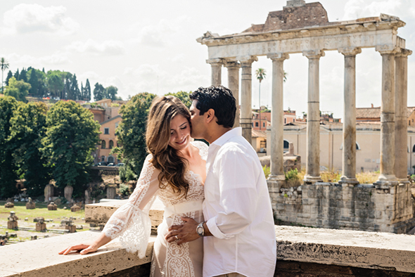 rome destination weddings A Roman Holiday   1st Anniversary in Italy