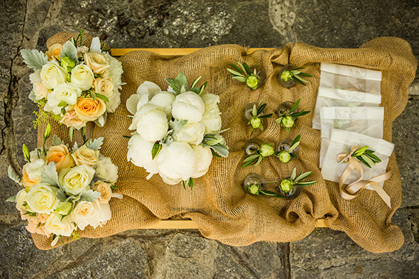 rustic wedding flowers An Intimate Destination Wedding at Kenwood Inn and Spa in Sonoma