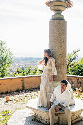 wedding locations rome A Roman Holiday   1st Anniversary in Italy
